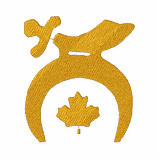 Canada Shrine Custom Embroidered Polo Shirts