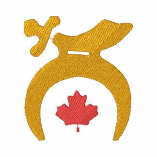 Canada Shrine Custom Embroidered Polo Shirt