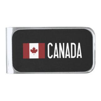 Canada Silver Finish Money Clip