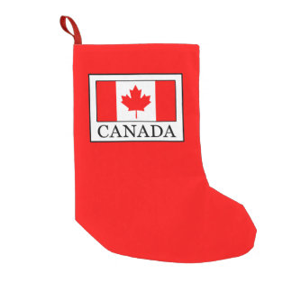Canada Small Christmas Stocking