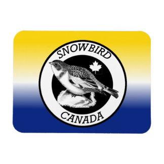 Canada Snowbird Shield Magnet