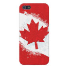Canada Snowflake Cover For iPhone SE/5/5s
