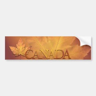Canada Souvenir Bumper Sticker Maple Leaf Sticker Car Bumper Sticker