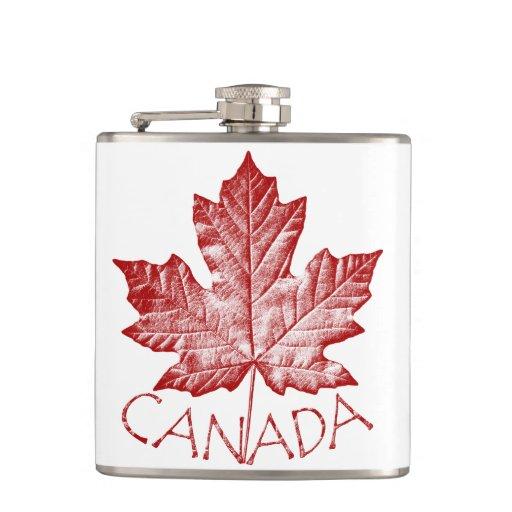 Canada Souvenir Flask Cool Canada Drink Flask Gift Zazzle