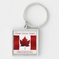 Canada Souvenir Key Chain Canada Flag Key Chain
