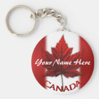 Canada Souvenir Key Chain Personalized Canada Gift