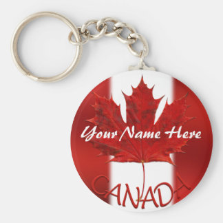 Canada Souvenir Key Chain Personalized Canada Gift