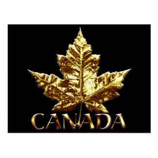 Canada Souvenir Postcards Gold Canada Medal Cards
