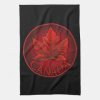 Canada Souvenir Towel Canadian Tea Towel Decor