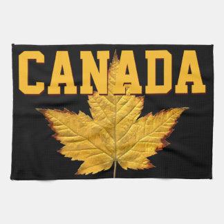 Canada Souvenir Towel Varsity Canada Tea Towel