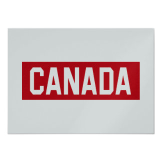 Canada Stencil Card