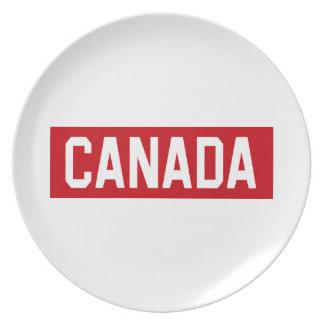Canada Stencil Plate