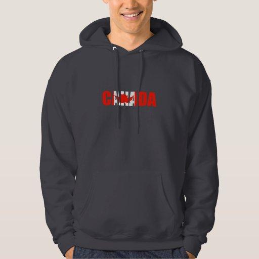 Canadá Sudadera Con Capucha