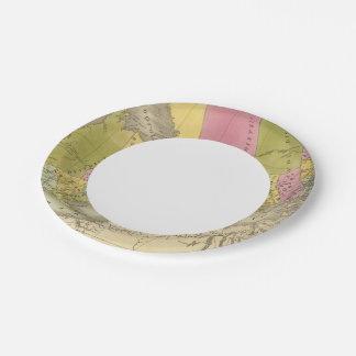 Canadá superior 4 plato de papel de 7 pulgadas