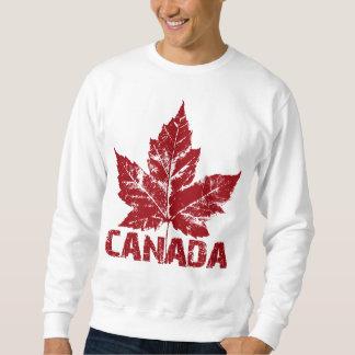 Canada Sweatshirt Retro Maple Leaf Souvenir Shirts