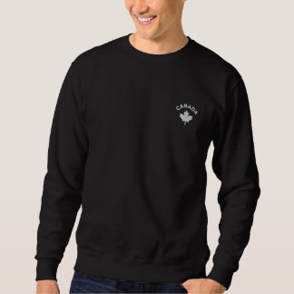 Canada Sweatshirt - White Canada Maple