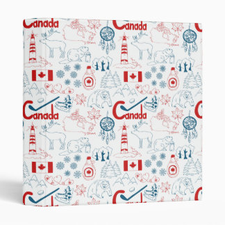 Canada | Symbols Pattern Binder