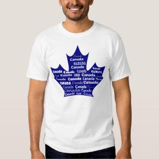 Canada T-shirt Blue