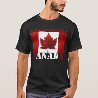 Canada T-shirt Personalized Sm - 6XL Canada Shirt