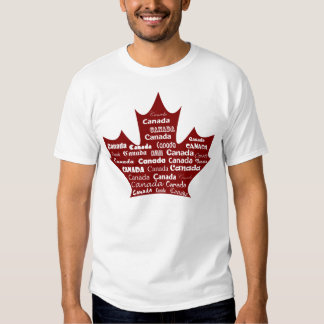 Canada T-shirt Red