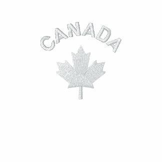 Canada T Shirt - White Canada Maple