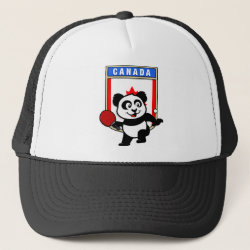 Canadian Table Tennis Panda Trucker Hat