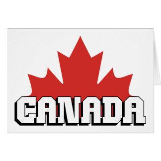 Canadá Felicitación