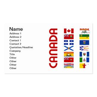 Canadá Tarjetas De Visita