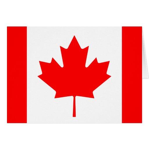 Canadá Tarjeta De Felicitación
