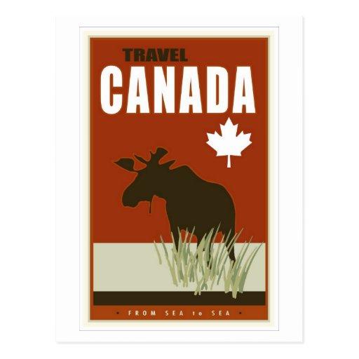 Canadá Tarjeta Postal
