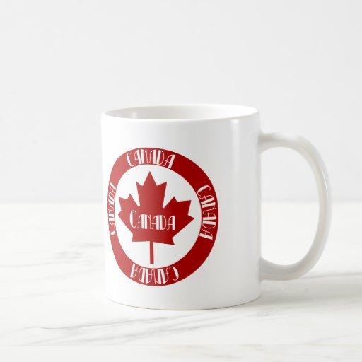 Canadá Taza Básica Blanca