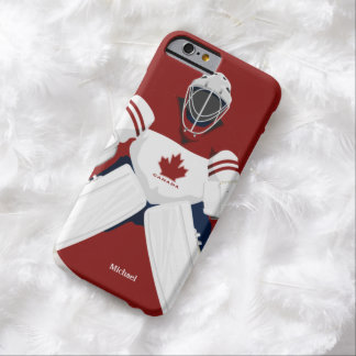 Canada Team Hockey Goalie Barely There iPhone 6 Case