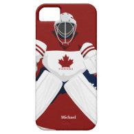 Canada Team Hockey Goalie iPhone 5 Cases