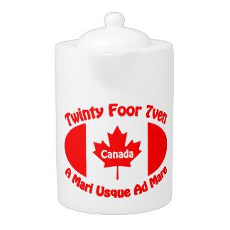 Canada Teapot