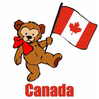 Canada Teddy Bear Cut Out