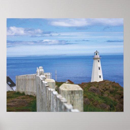 Canadá, Terranova, nacional 3 de la lanza del cabo Póster