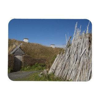 Canadá, Terranova y Labrador, L'Anse 2 aux. Imanes De Vinilo