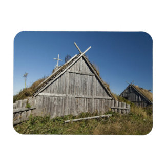 Canadá, Terranova y Labrador, L'Anse 3 aux. Iman De Vinilo