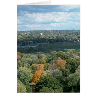 CANADA Toronto Fall Season Views Greeting Cards