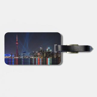 Canada-  Toronto Night View Luggage Tag