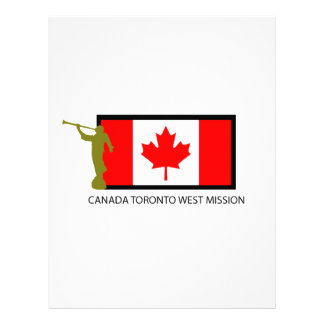 CANADA TORONTO WEST MISSION LDS CTR LETTERHEAD