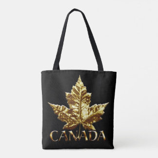 Canada Tote Bags Canada Gold Maple Leaf Bags