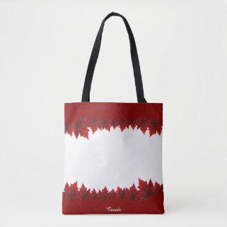 Canada Tote Bags Custom Canada Maple Leaf Bags