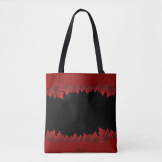 Canada Tote Bags Red Canada Maple Leaf Bags
