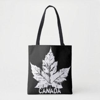 Canada Tote Bags Retro Canada Maple Leaf Bags