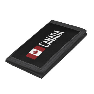 Canada Trifold Wallet