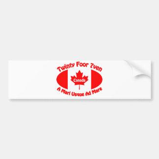 Canada - Twinty Foor 7ven Bumper Sticker