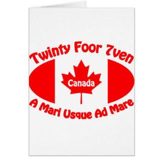 Canada - Twinty Foor 7ven Cards