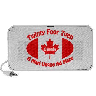 Canada - Twinty Foor 7ven iPod Speakers