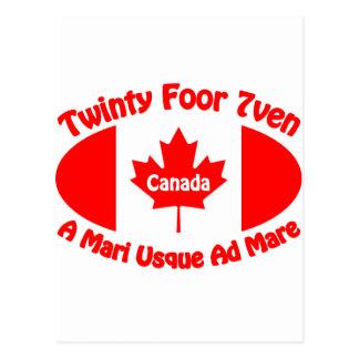 Canada - Twinty Foor 7ven Postcard